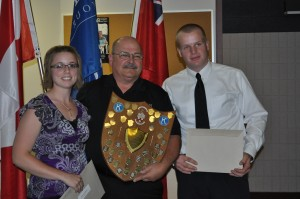 Kiwanis Club Golden Anniversary Awards - Marissa Leadbeater & Andrew Markle